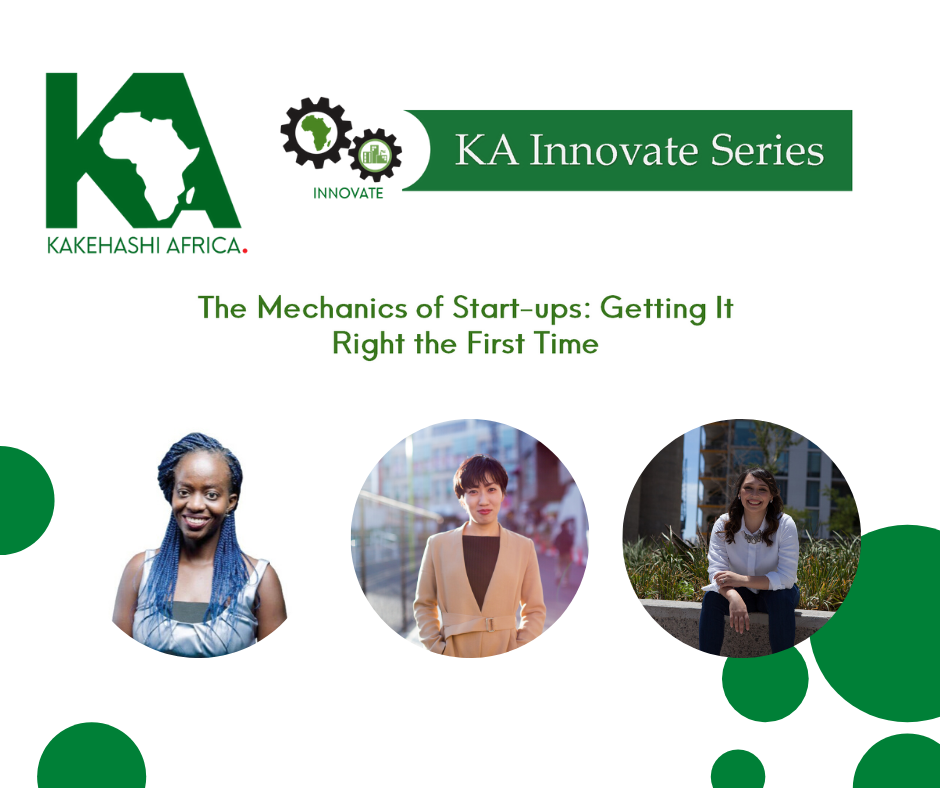 KA Innovate Webinar 3 Report – Mechanics of Start-ups : Getting It Right the First Time